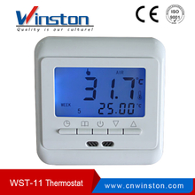 Fabricante WST-11 3A 10A 16A 230V AC LCD Termostato de ambiente digital programable