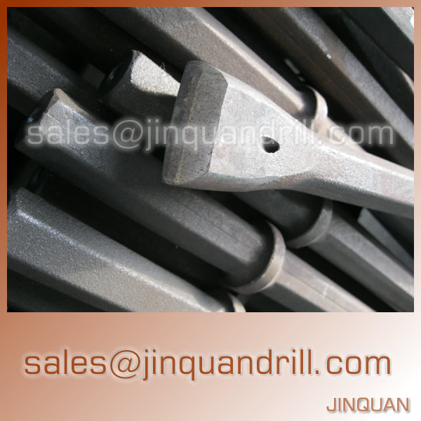 H19 Integral drill steels H22 Integral drill rods Plug hole integral steels 7 degree 11 taper degree 12 degree