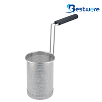 Cylindrical Stainless Steel Pasta Basket - BTW60S57-304
