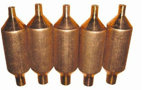 Air conditioner copper accumulator