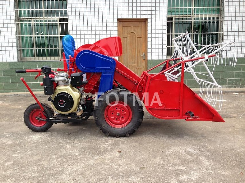 4LZ-0.6 Mini Rice&Wheat Combine Harvester