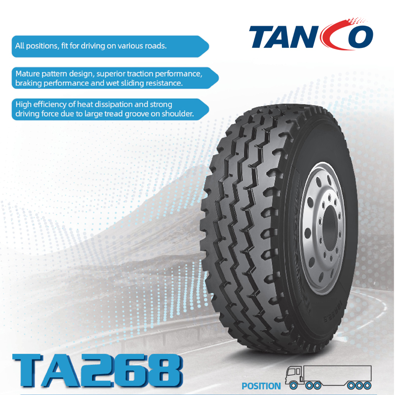 TRUCK TYRE 315/80R22.5 TA268 ON SALES PROMOTION