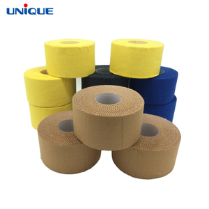 Zinc Oxide Brown Rigid Strapping Sport Tape