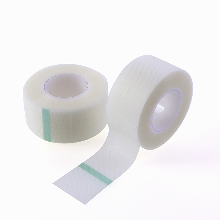 Breathable hydrocolloid 2.5cm transparent surgical tape clear