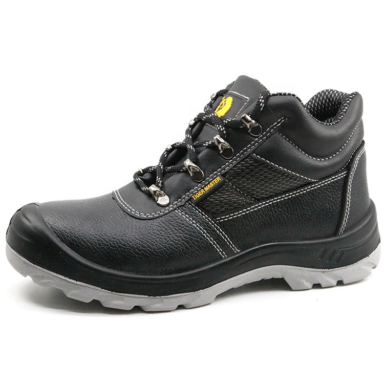 CE Approved Tiger Master Brand Steel Toe Cap Industrial Safety Shoes Work