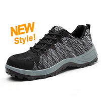 DTA019 china slip resistant steel toe stylish sporty safety shoes