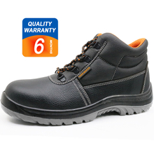 ENS028 oil resistant leather upper pu sole europe safety boots steel toe cap