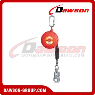 Nylon Self Retractable Lifeline, Webbing Retracting Lifeline