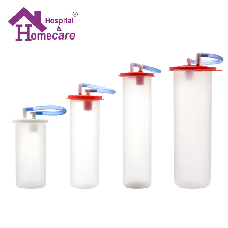 Wall mounted medical suction jar Suction Regulator disposable suction bottle