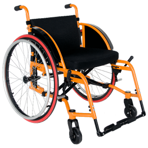 Lightweight Handicapped Reclining Manual Sports Wheelchair for Sale
