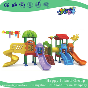 Bright Color Outdoor Children Plastic Small Slide Playground Equipment(ML-2007501)