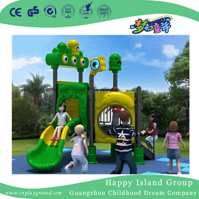 Little Elves Series Children Slide Playground For Kindergarten (HJVS2-8023A)