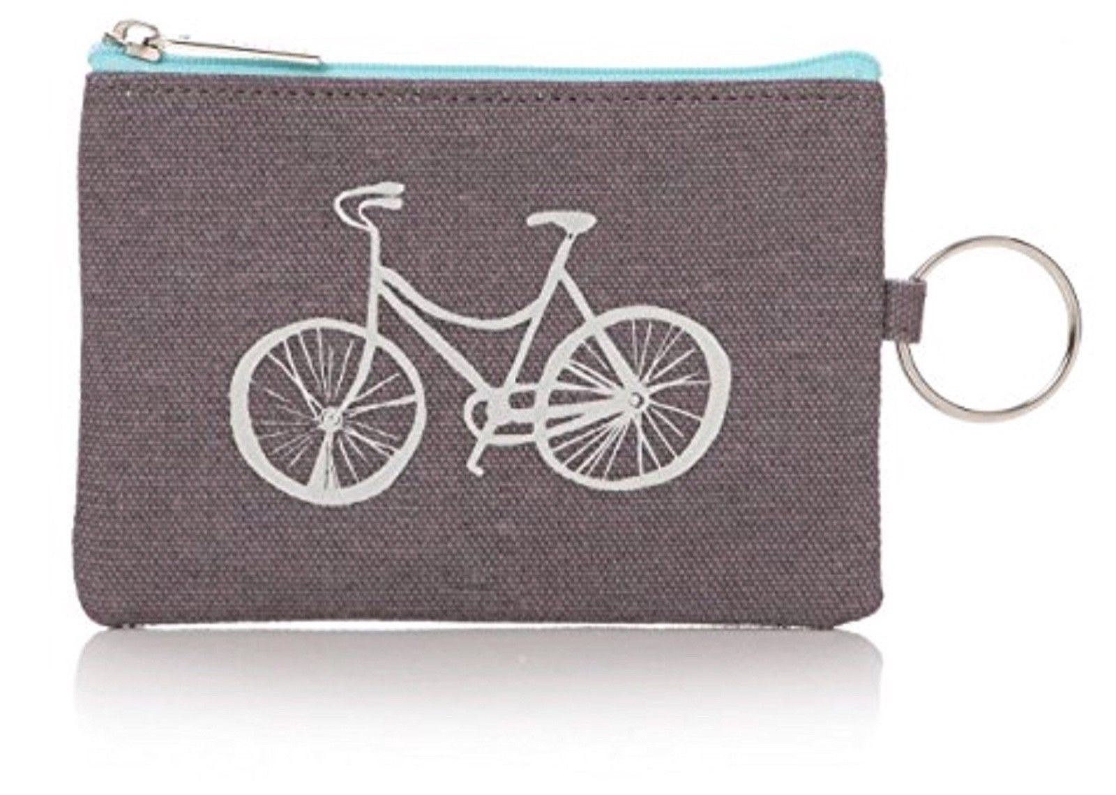 Cotton Canvas Coin Purse Wallet Pouch