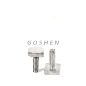 Stainless Steel 316 A4-80 M12 Square Head Bolts