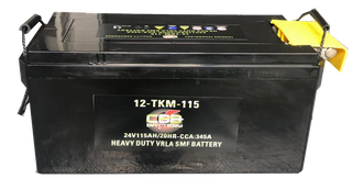 12-TKM-115 VRLA SMF Military Tank Battery 24V115AH