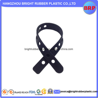 OEM High Quality Flexible Molded Silicone Strap
