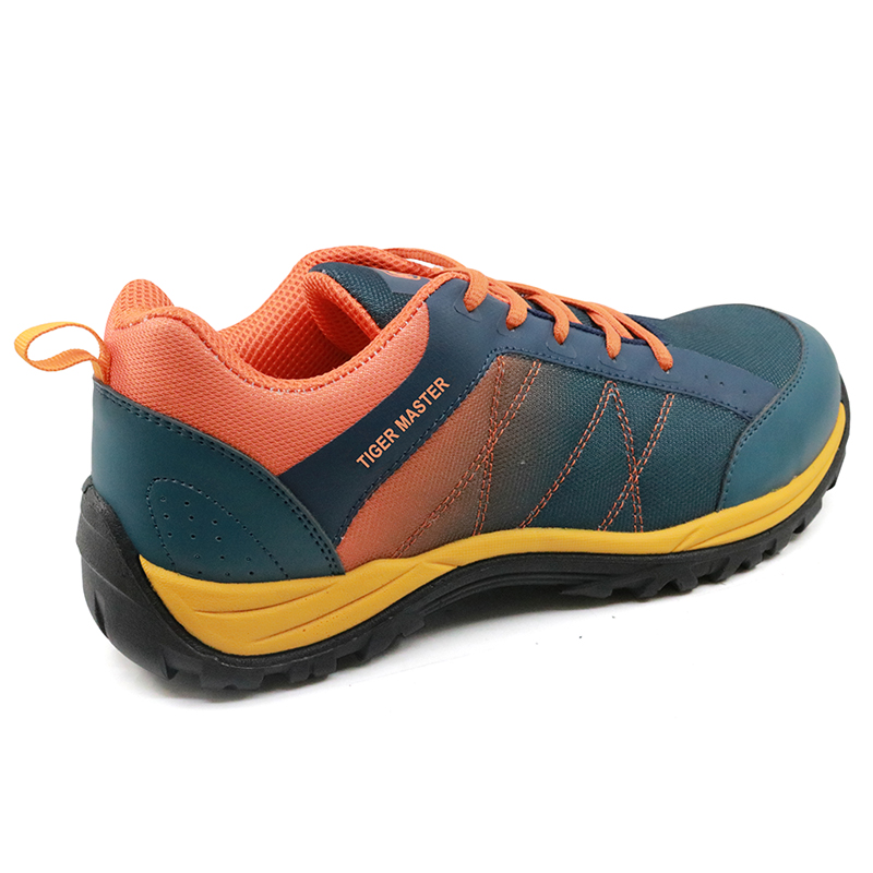 Oil slip resistant super light fashion safety shoes sport for men