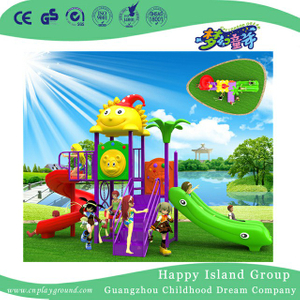Preschool Cartoon Roof Children Playground For Sale (BBE-A55)