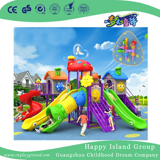 Middle School Children Multifunctional Slide Playground (BBE-A39)