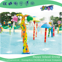 Outdoor Double Beautiful Buds Spraying Water Play Game Equipment (HHK-11110)