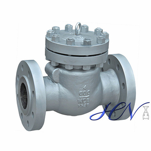 Hot Water Recirculation Cast Steel Flanged Bolted Cover Swing Check Valve