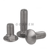 SS304 Metric M6 Button Head Carriage Bolt