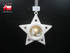 Christmas Decorative Star Shape Hanging Led Light with Nativity Scene Made by Plastic From Christmas Decoration Supplies