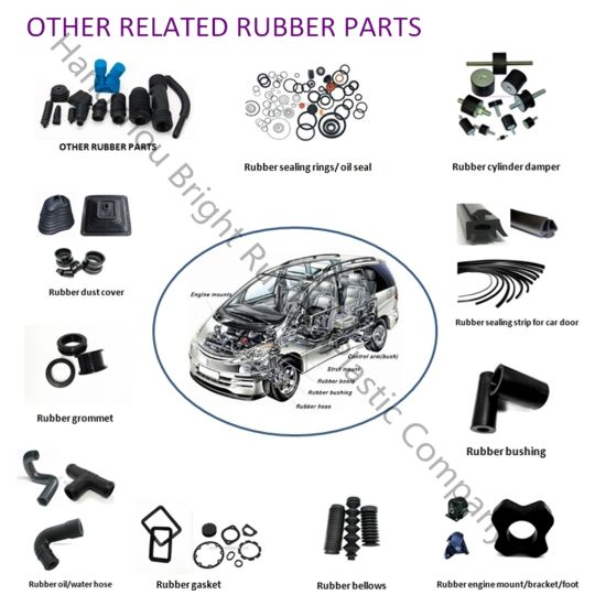 2017 Best Selling Products Customized Rubber Parts/Chinese Rubber Products