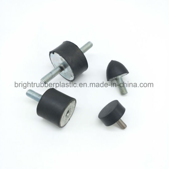 Rubber Shock Absorber Bonded Metal Parts Damper