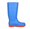 111 blue oil resistant pvc safety rain boot for work