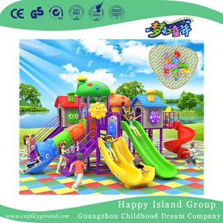 Residential Area Children Slide Combination Playground For Promotion (BBE-A40)