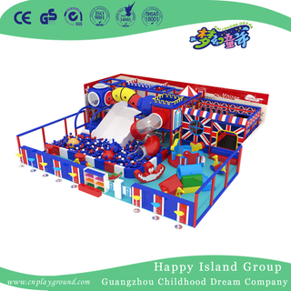 New American Style Colorful Toddler Small Indoor Playground With Ball Pool (TQ-200411)