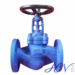 Carbon Steel Flanged Bellow Seal Handwheel Globe Valve