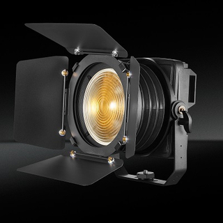TH-351 200W impermeable Spotlight plegable LED Fresnel para Teatro