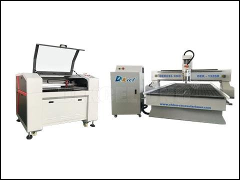 What are the differences between cnc router machine and laser engraving machine?