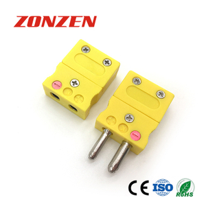 Thermocouple standard connector (ZZ-S03, Hollow pins)