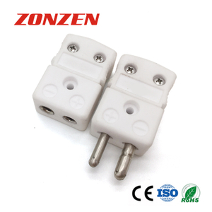 New Type of High Temperature Standard Size Ceramic Thermocouple Connector