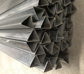 triangle shape steel welded tube