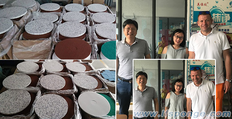 Customers from Poland visit our company - Life Nano-Plastic Product (Zhangzhou) Co., Ltd