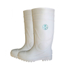 WWS slip resistant waterproof food industry pvc safety rain boot