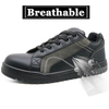 PU injection slip resistant anti static metal free sport shoes safety