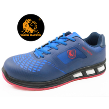 Low ankle tiger master brand metal free fashion sport safety shoes airport