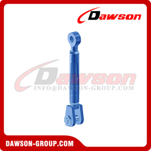 HD Turnbuckle with Eye & Jaw, Heavy Duty JE Type Turnbuckle for Tightening and Lashing