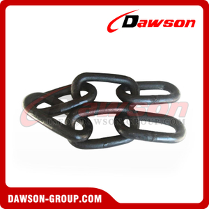 G80 or G40 Welded Alloy Steel Barge Chain, Grade 80 Grade 40 Drag Chain for Lashing or Pulling