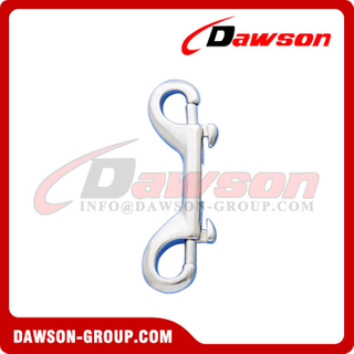 Stainless Steel Double End Bolt Snap Hook, Double End Snaps