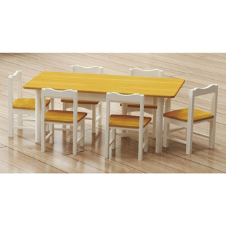 Hot Sale Children Rectangle Wooden Table (19A2202)