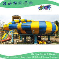 Outdoor Super Bowl Water Slide Playground For Family (HHK-9901)