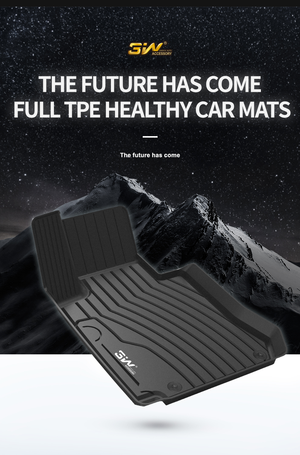What are the advantages of TPE car mats material?