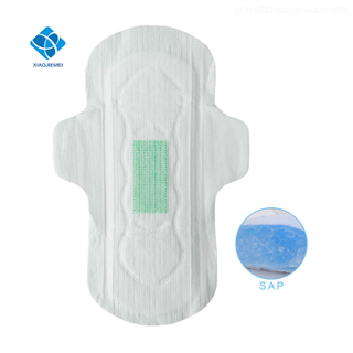 Ultra Thin Style And Super Absorbent Lady Women Organic Pure Cotton Soft Anion Sanitary Pads