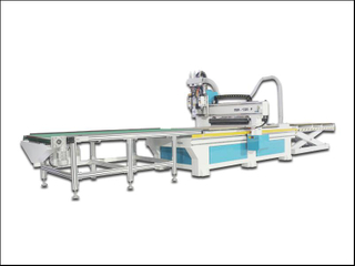 China cabinet ATC woodworking cnc router with auto load unload system